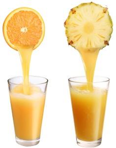 Ананасово-апельсиновые леденцы