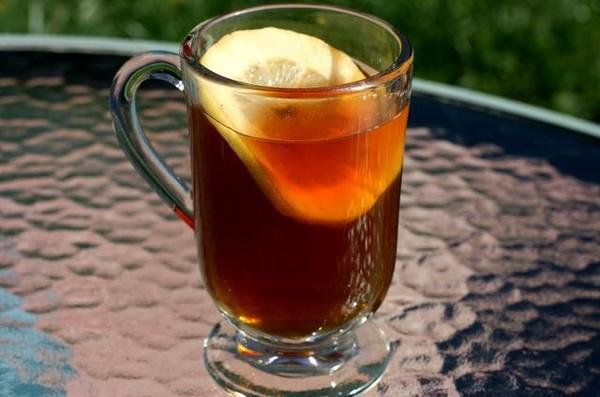 Яблочно-грейпфрутовый чай